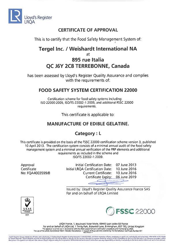 Tergel / Canada