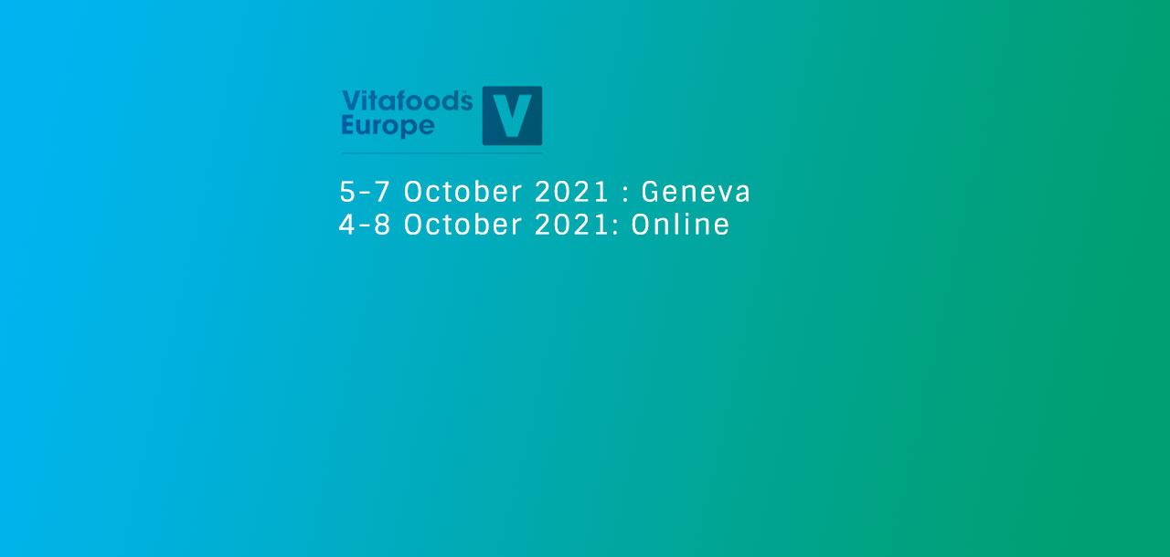 Vitafoods 2021